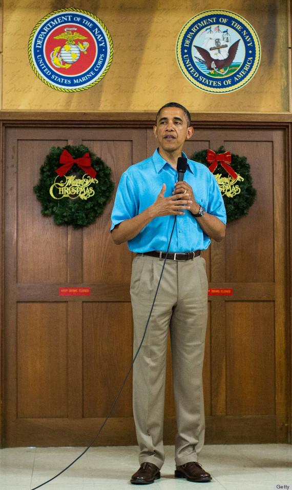 president obama hawaii vacation