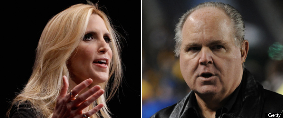 Image result for Limbaugh and coulter