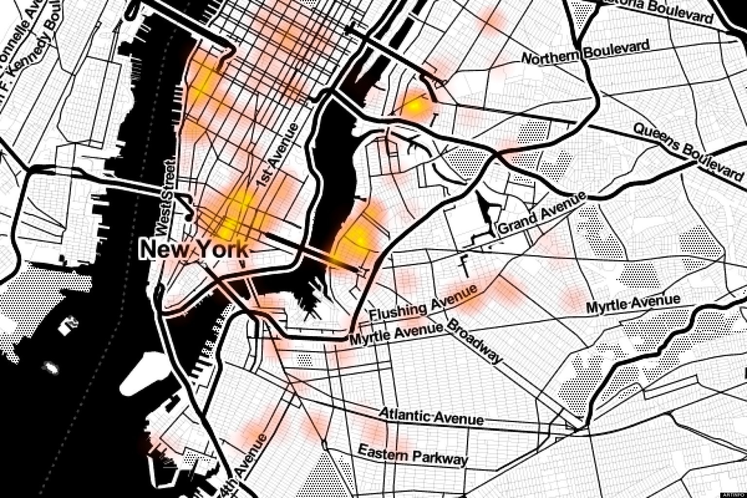 Interactive Graffiti Maps Offer Clues To New York S Street