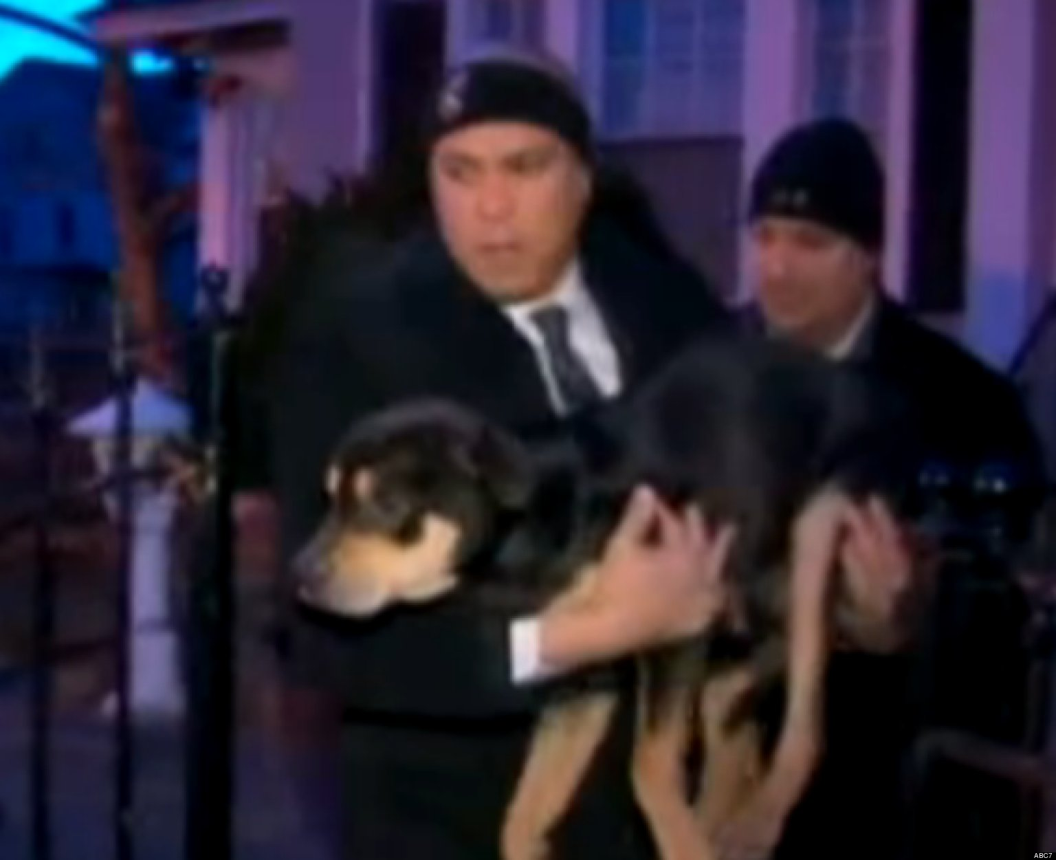 Cory Booker Rescues Dog From Cold In Newark VIDEO HuffPost