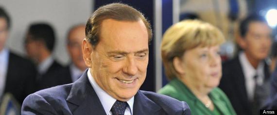 Berlusconi Merkel