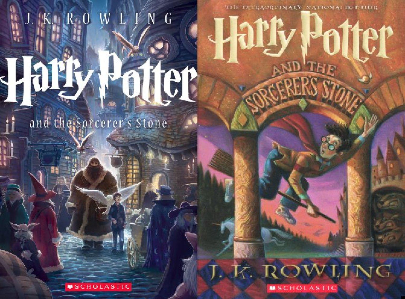 New Harry Potter Novels Designed By Graphic Novel Artist