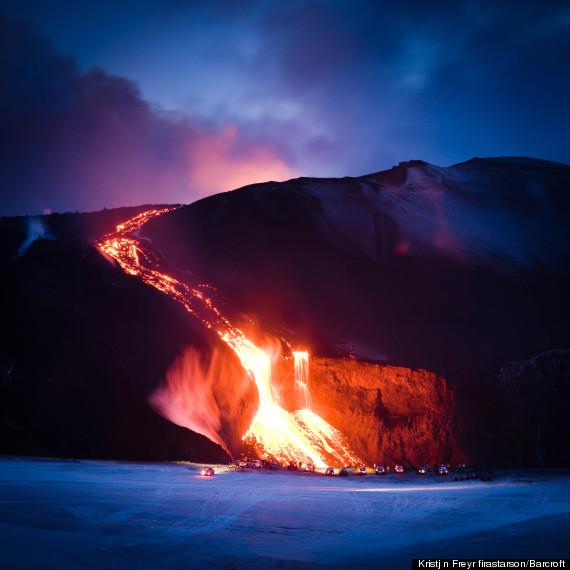 islandia volcán