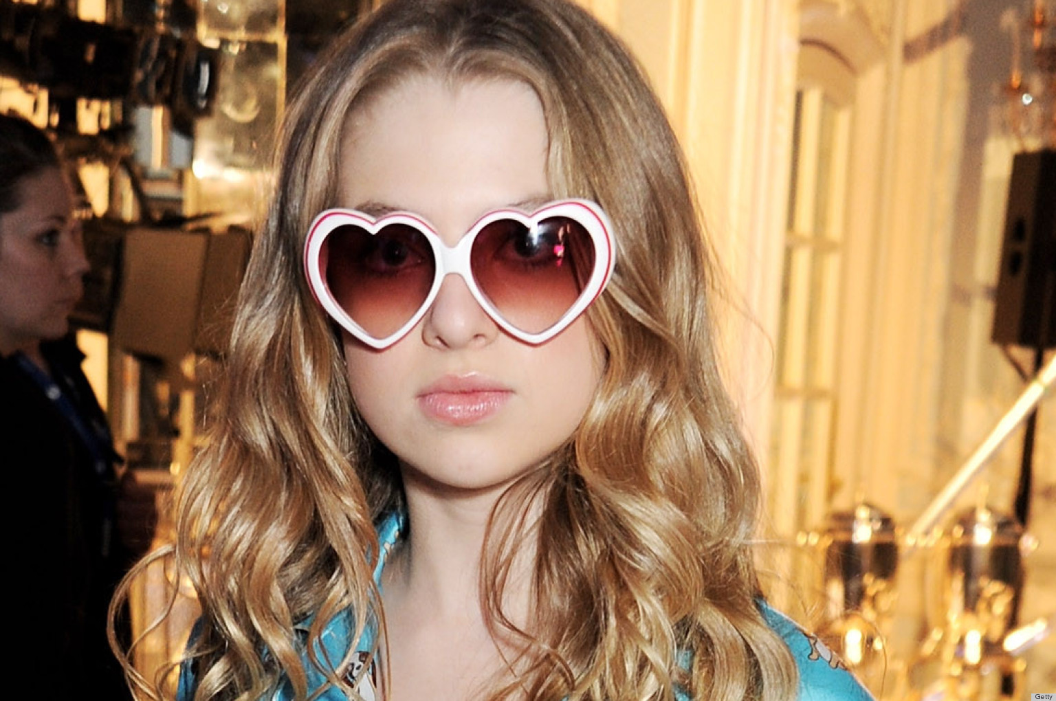 Anais Gallagher Attends Moschino Show Wears Coolest