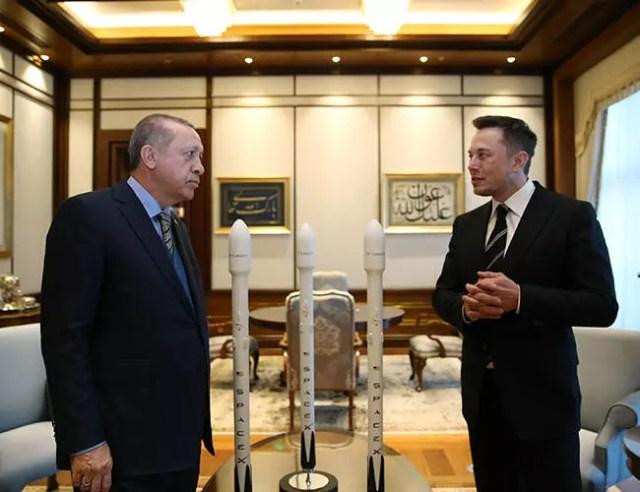 President Erdoğan, Elon Musk discuss Tesla cooperation with Turkish firms