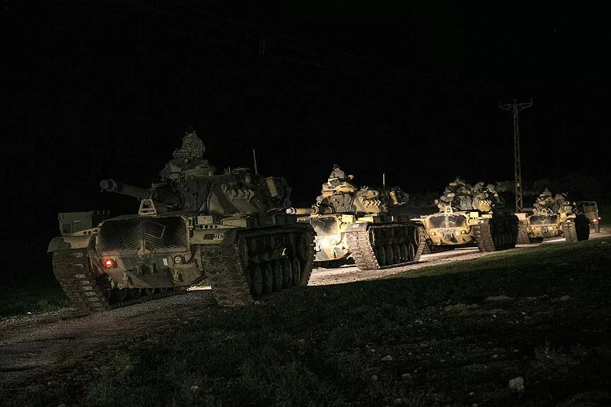 Turkey launches 'Olive Branch Operation' against 'PKK threat in Syria'