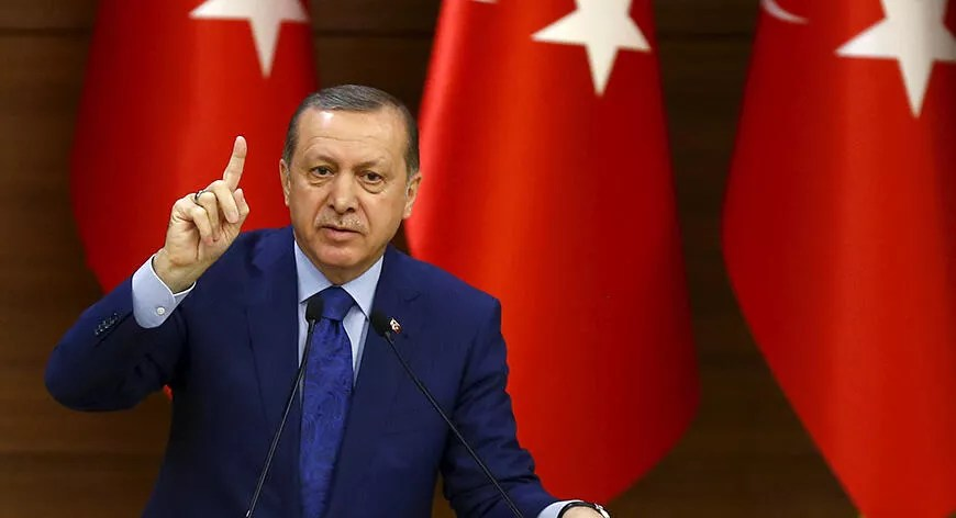 Erdoğan slams France for offering to mediate between Turkey and SDF