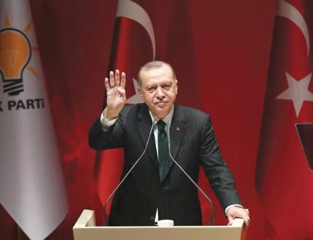 Opposition targeting me rather than seeking to rule Turkey: Erdoğan