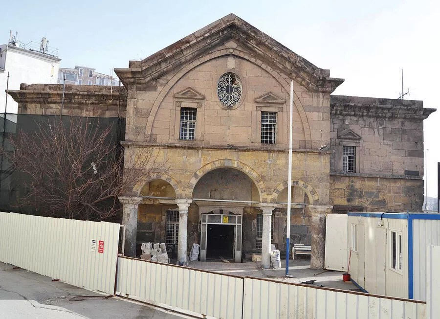 Historic Virgin Mary Church in Kayseri to become library