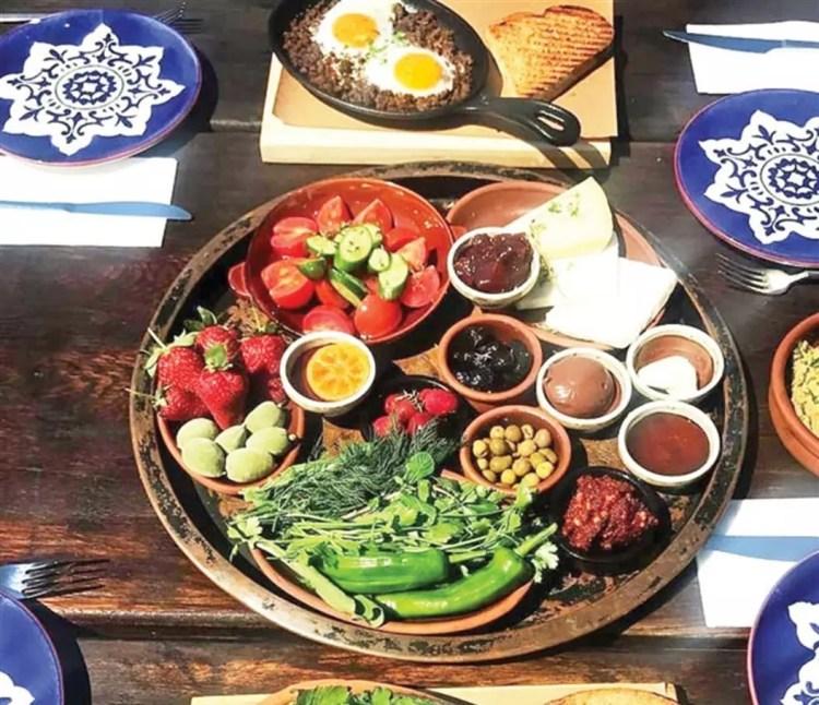 100 billion liras wasted in breakfast menus