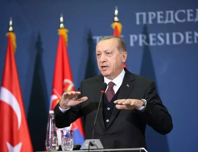 Turkey does not consider Ambassador Bass as US representative: Erdoğan