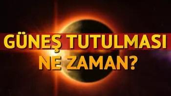 Güneş tutulması ne zaman gerçekleşecek? Parçalı güneş tutulması nedir?