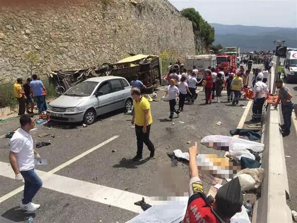 Muğlada korkunç kaza