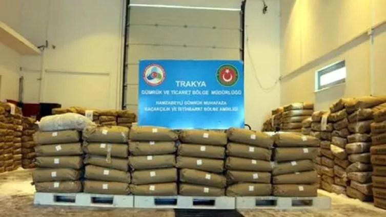 Hamzabeyli Sınır Kapısı'nda 775 kilo eroin ele geçirildi