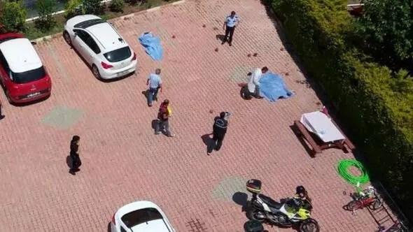 Antalyada sitede katliam gibi kavga