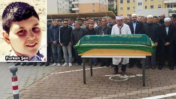 Furkan'ın cenazesi Türkiye'ye gönderildi