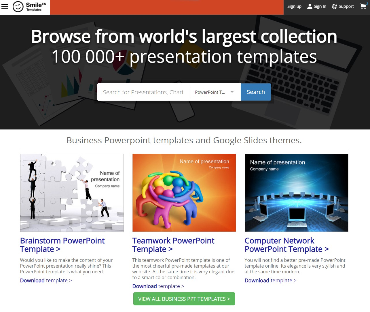free download template powerpoint gratis