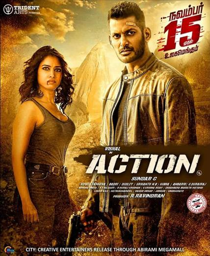 Action 2020 Dual Audio 720p UNCUT HDRip ESub 1GB DL