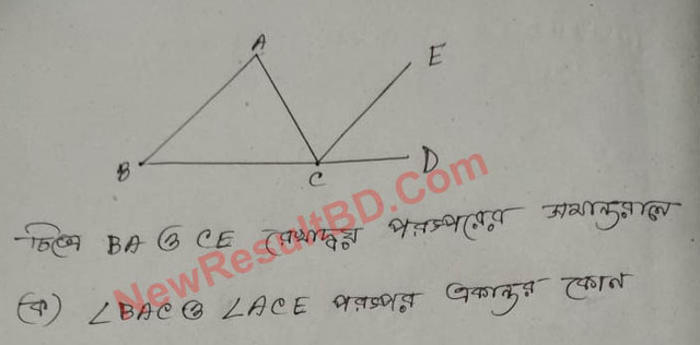 Class 7 Math Assignment Solve 3rd week