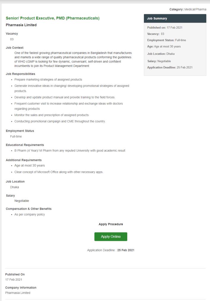 pharmasia-limited-job-circular-2021