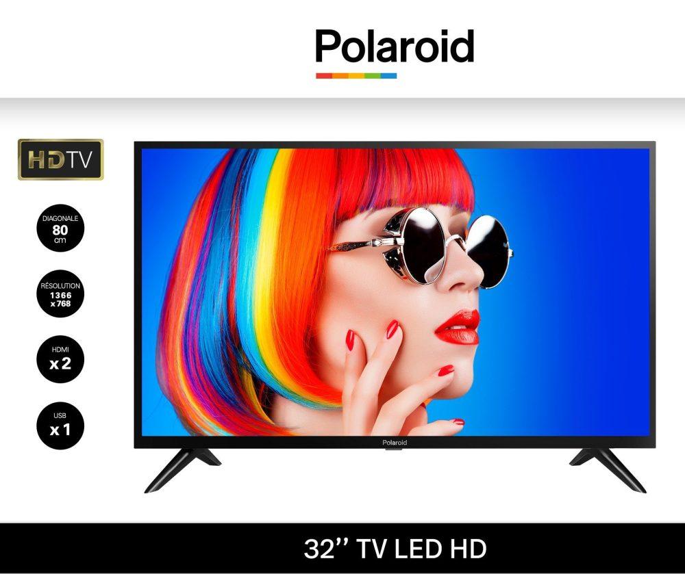 polaroid tv led 32 80cm hd