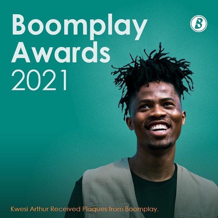Kwesi Arthur Amasses over 10 Million Streams on Boomplay
