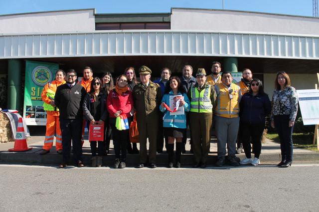 Carabineros de la SIAT lanzó servicios de fiestas patrias con campaña «Manéjate con responsabilidad».