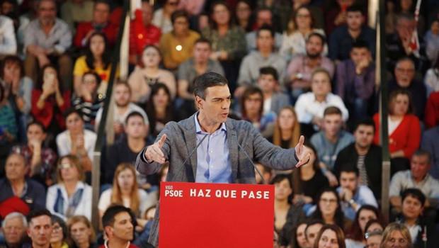 PSOE sería fuerza más votada en las europeas y superaría en 10 puntos al PP