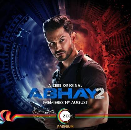 18+ Abhay (2020) S02 Hindi Complete Full ZEE5 Web Series 1.8GB DL
