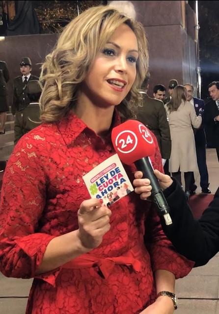 Diputada Loreto Carvajal desmenuzó la Cuenta Pública presidencial.