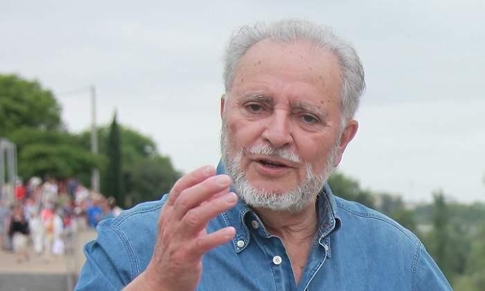 Julio Anguita pide el voto para Unidas Podemos