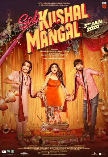 Sab Kushal Mangal (2020) Hindi Movie 720p HDRip 1.6GB | 500MB Download
