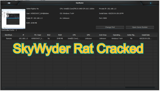 SkyWyder Rat Cracked