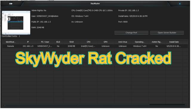 SkyWyder Rat Cracked