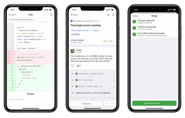 github-mobile-app-ios-android-developer
