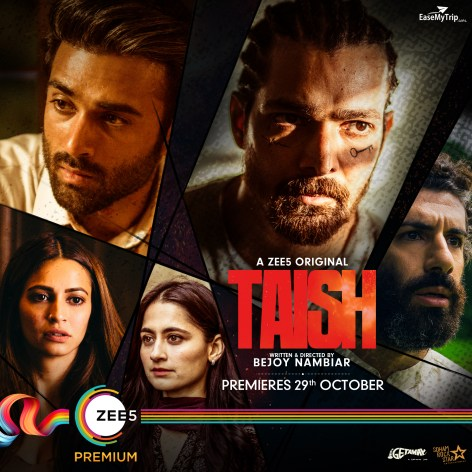 Taish 2020 S01 Hindi Complete Zee5 Web Series 720p HDRip 1.2GB | 550MB Download