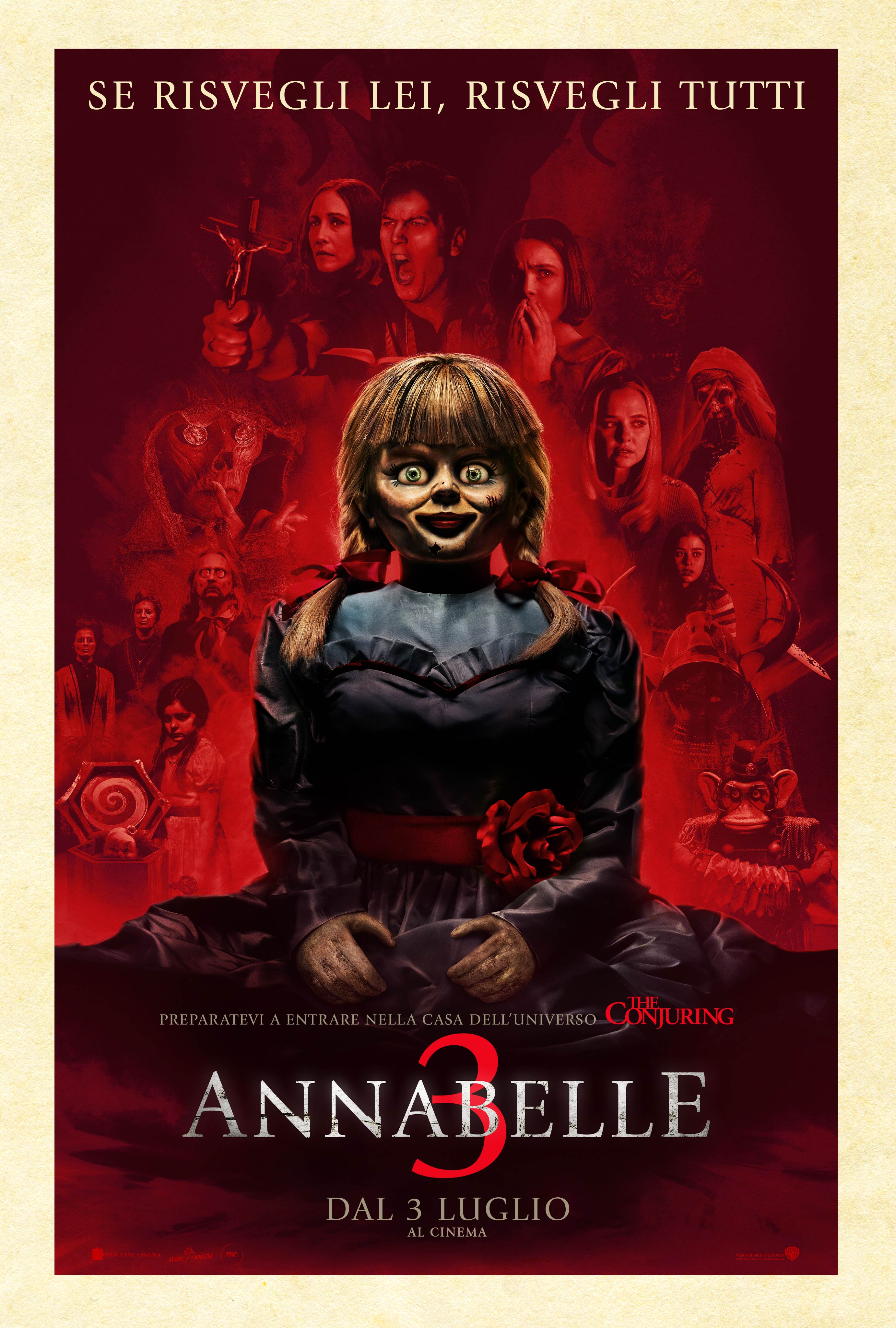 Annabelle 3: Online il nuovo poster