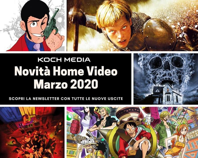 Koch Media presenta le uscite di Marzo 2020