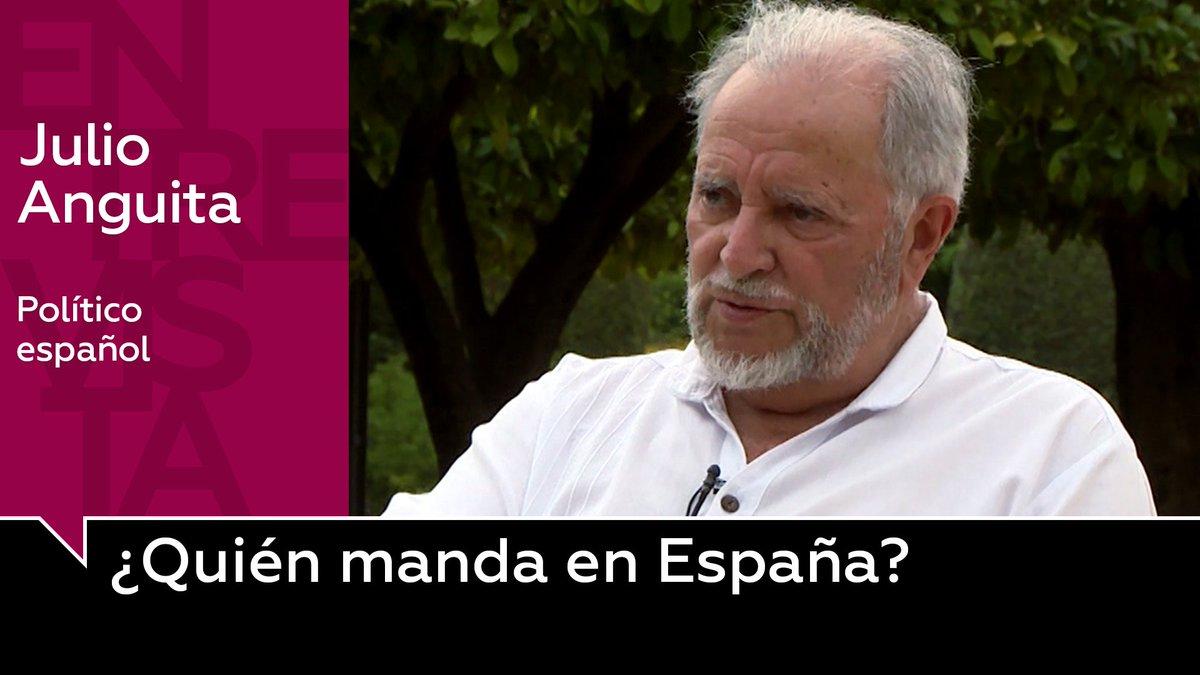 Vídeo | Julio Anguita explica por qué el PSOE nunca aceptará gobernar con Unidas Podemos