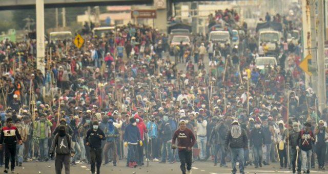 Lenín Moreno y el FMI lograron unir a los ecuatorianos en las calles y las rutas