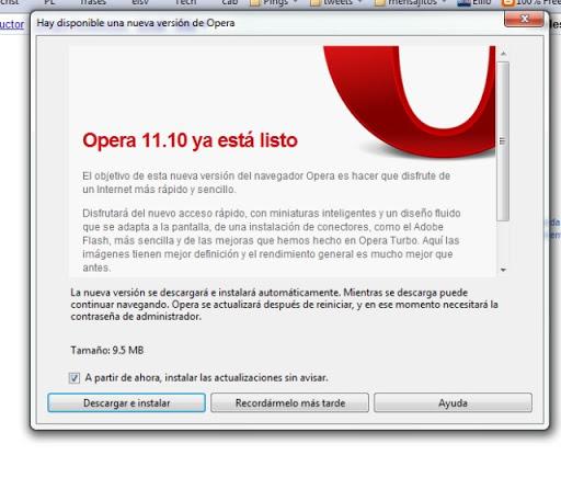 Te enseñamos los pasos para actualizar Opera manualmente.