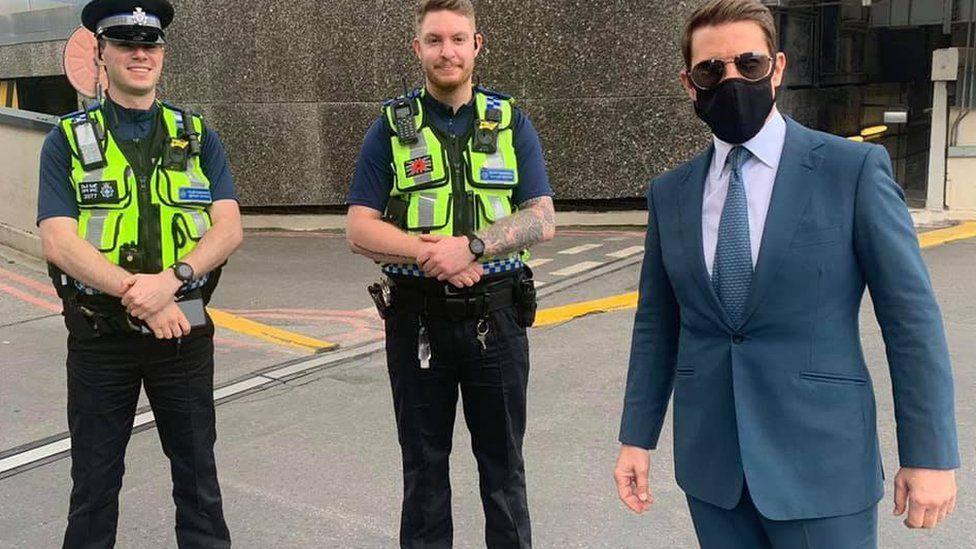 Tom Cruise and British Police