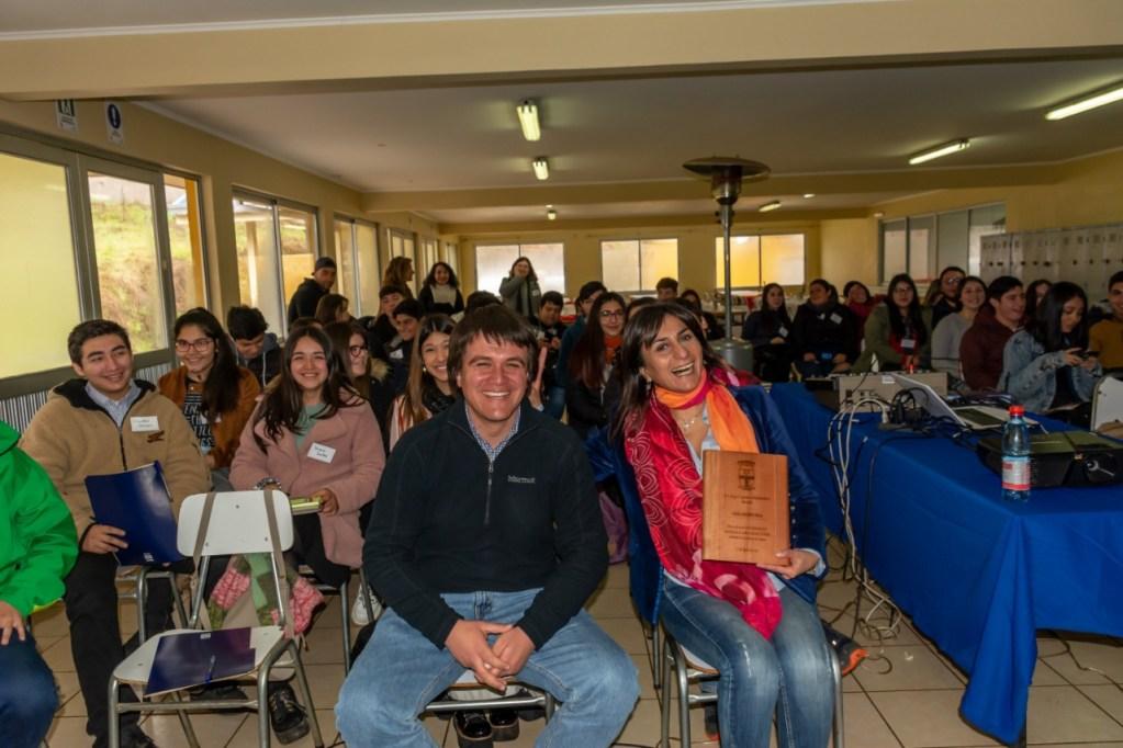 Escuela de Jóvenes Líderes sumó participantes de todo Ñuble.