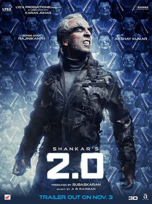 2.0 (2018) Hindi Movie HDRip x264 AC3