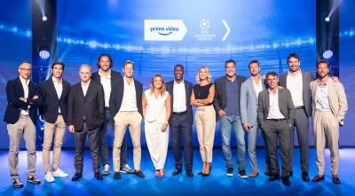 Prime Video annuncia la squadra per la stagione 2021/22 della UEFA Champions League