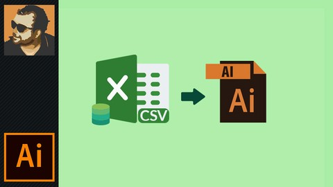 How to Use Dynamic Data with Variables in illustrator 100% off udemy coupons