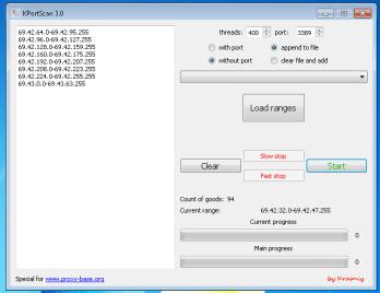 KPortScan 3.0