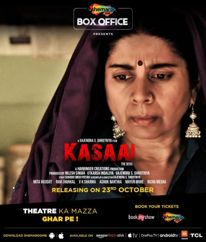 Kasaai 2020 Hindi 720p HDRip 700MB | 300MB Download