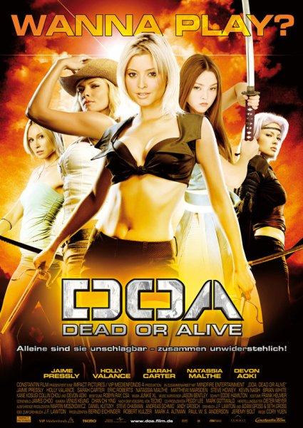 DOA: Dead or Alive 2006 Hindi Dual Audio 720p BluRay ESubs 650MB