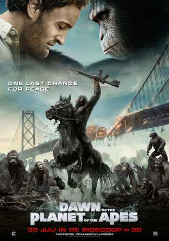 Dawn of the Planet of the Apes (2014) BluRay Dual Audio Movie 720p